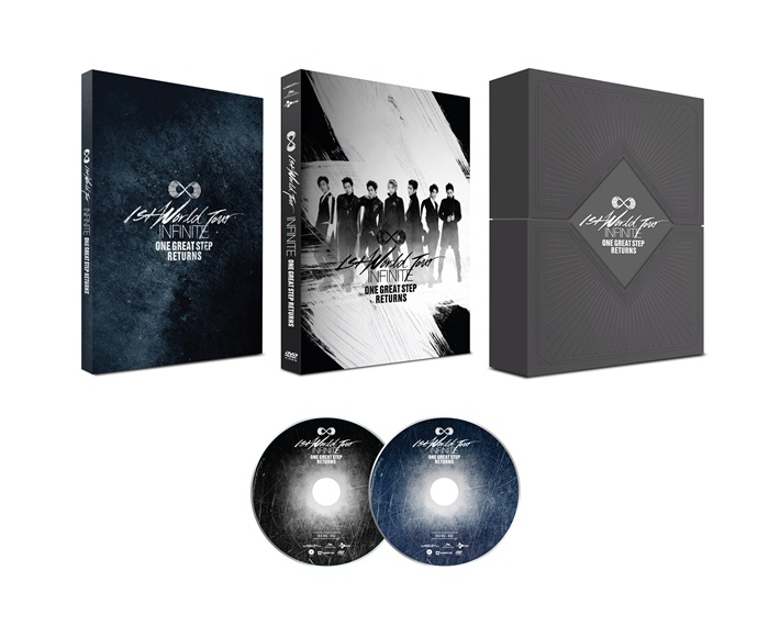 [INFINITE] Live DVD (2014 ONE GREAT STEP RETURNS) Olympic Gymnastics Stadium