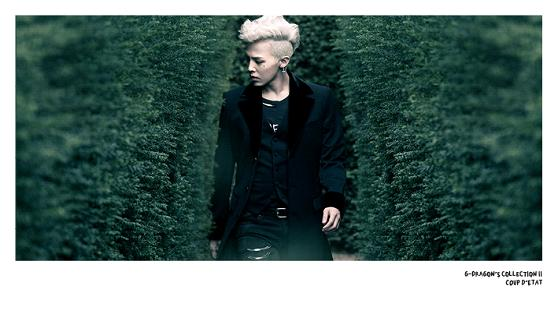 [ K-POP ] G-Dragon - G-Dragon`s CollectionⅡ (COUP D'ETAT)  (3DVD+200p photo book + 2 photo flip books + photo film package)